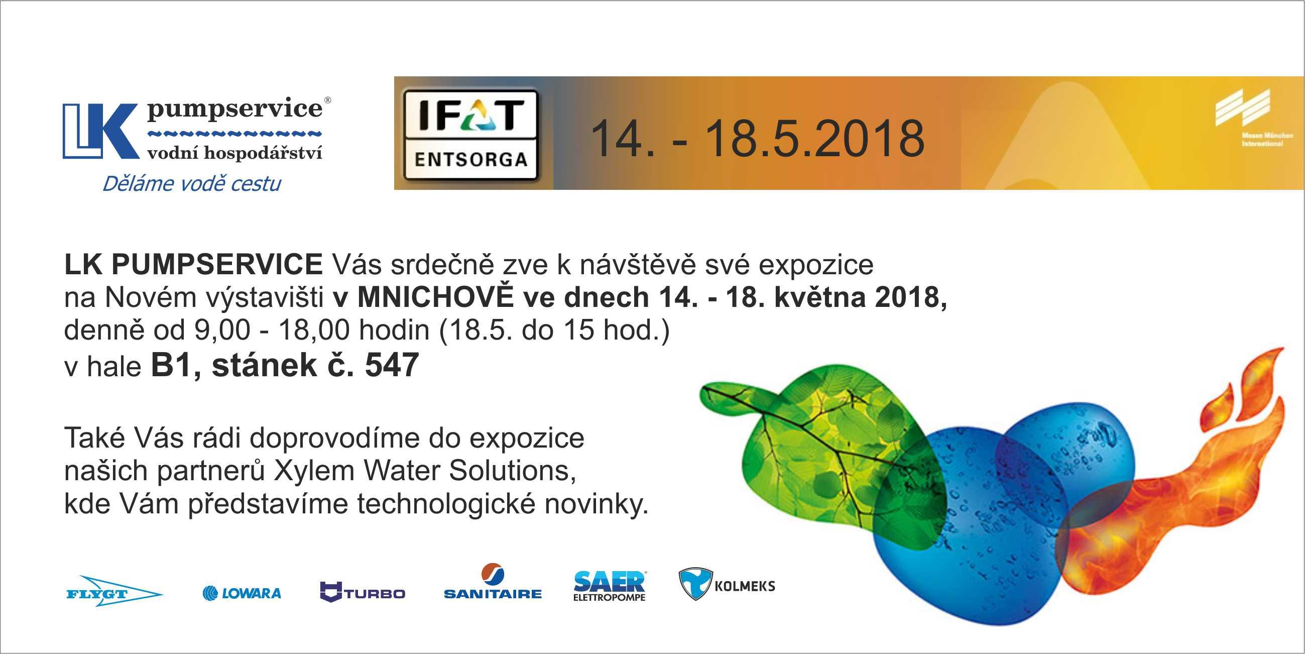 IFAT pozvánka